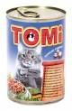TOMI konzerva losos a pstruh pro kočky 400 g