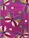 Detský koberec Kids 410 lila 80 x 150 cm