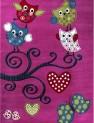Detský koberec Kids 420 lila 80 x 150 cm