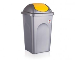Koš odpadkový MP 60 l, žluté víko