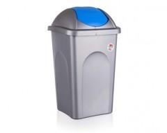 Koš odpadkový MP 60 l, modré víko