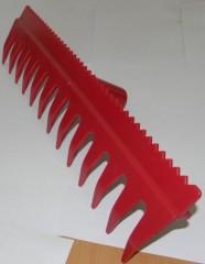 Hrábě plast s lištou - prořezávací 1360050