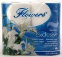 Papír toaletní 3 vrstvý Flowers Exklusive s vůní 1580004