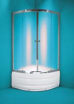 Sprchový kout Toledo 90 x 90 x 200 cm, včetně vaničky - AKCE!