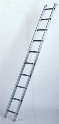 Jednostranný hliníkový žebřík VHR 1x7