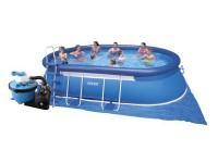 Bazén Marimex Tampa ovál 3,05 x 5,49 x 1,07m s pískovou filtrací