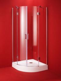 Bezrámový sprchový kout Viveiro 90 x 90 x 195 cm