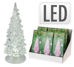 Stromeček vánoční 19 cm svítící LED 4261638