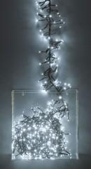 Světla vánoční 192 LED žárovek bílá vnitřní i venkovní 4261672