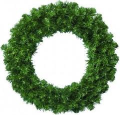 Věnec vánoční 35 cm zelený 450424