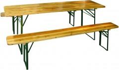 Set zahradní pivní 180 cm - 1 x stůl, 2 x lavice 4050681