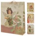 Taška vánoční 33x9,6x41 cm  dárková 4261028