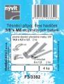 Těsnění flexi hadiček 3/8 x M8 stojánkových baterií - 4 ks 4640319