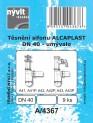 Těsnění sifonu umyvadla Alcaplast DN40 - 9 ks 4640321