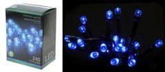Světla vánoční 240 LED modré 4261050