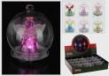 Dekorace vánoční svítící sklo závěsná 4260840