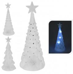 Stromeček vánoční 19 cm 3 x LED svítící 4261339