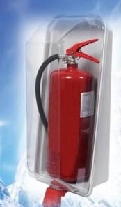 Krystal box na hasicí přístroje 12kg