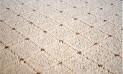 Okrúhly koberec Udinese béžový priemer 57 cm