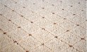 Obdĺžnikový koberec Udinese béžový 50 x 80 cm