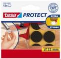 Tesa Potect plstené podložky priemer 22 mm hnedé