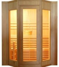 Finská sauna HealthLand DeLuxe HR4045