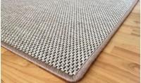 Obdelníkový koberec Nature 57 x 120 cm světle béžový