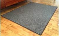 Obdelníkový koberec Nature 57 x 120 cm tmavě béžový