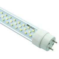 LED trubice T8 150cm, teplá bílá 3500K, 2220lm, 25W, 3528, 230V, čirá, AL + PL