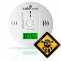 Detektor CO SAFE 0242 - meranie oxidu uhoľnatého