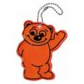 Prívesok reflexné BEAR - oranžový
