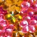 dpCraft Dekoratívne kryštáliky - kvety 100ks, (AK100C)