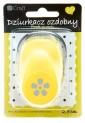 dpCraft Dekoračné dierovač 2,5cm - flóra, (JCDZ110-073)
