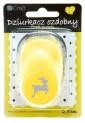dpCraft Dekoračné dierovač 2,5cm - sob, (JCDZ110-260)
