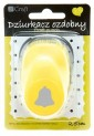 dpCraft Dekoračné dierovač 2,5 cm - zvonček, (JCDZ110-092)