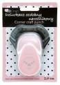 dpCraft Dekoračné dierovač rohová 2,5 cm - srdce, (JCDZ210-022)