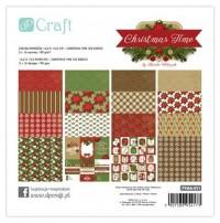 dpCraft Sada papírů 15,2 x 15,2 cm – Christmas time (32 archů), (PYMA-011)