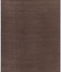 Kusový koberec Soft shaggy 1900 brown 120 x 70 cm