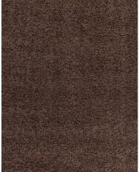 Kusový koberec Life Shaggy 1500 brown 60 x 110 cm