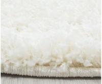 Kusový koberec Life Shaggy 1500 cream průměr 80 cm