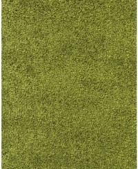Kusový koberec Life Shaggy 1500 green 80 x 150 cm