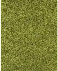 Kusový koberec Life Shaggy 1500 green 80 x 250 cm