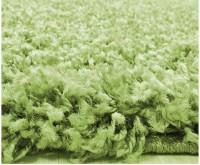 Kusový koberec Life Shaggy 1500 green průměr 80 cm