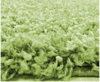 Kusový koberec Life Shaggy 1500 green průměr 120 cm