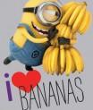 Detský koberec Mimoň DM01 Love Bananas 95x133 cm