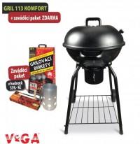 Zahradní gril VeGA GRIL 113 a zaváděcí paket ZDARMA