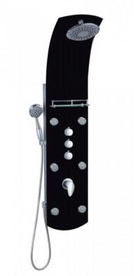 Sprchový masážní panel Eisl KARIBIK ORSP-YMSBB černý