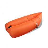 Nafukovací vak Duobed 250x100x50 cm oranžový