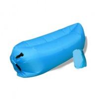 Nafukovací vak Duobed 250x100x50 cm světle modrý