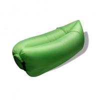 Nafukovací vak Duobed 250x100x50 cm zelený